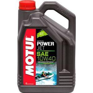 Моторное масло MOTUL PowerJet 4T 10W-40 4 л motul масло моторное inboard tech 4t 10w 40 2л 101751