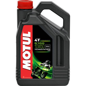 Моторное масло MOTUL 5100 4T 10W-50 4 л моторное масло motul power lcv ultra 10w 40 5 л