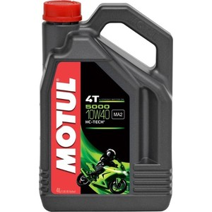 Моторное масло MOTUL 5000 4T 10W-40 4 л моторное масло motul 300 v 4t fl road racing 10w 40 4 л