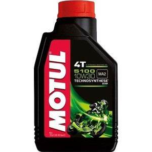 Моторное масло MOTUL 5100 4T 10W-30 1 л моторное масло motul 300 v 4t fl road racing 10w 40 4 л