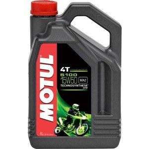 Моторное масло MOTUL 5100 4T 15W-50 4 л моторное масло motul 300 v 4t fl road racing 10w 40 4 л