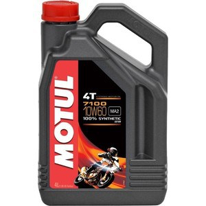Моторное масло MOTUL 7100 4T 10W-60 4 л моторное масло motul power lcv ultra 10w 40 5 л