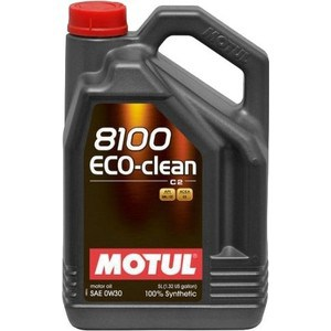 Моторное масло MOTUL 8100 Eco-clean 0W-30 5 л