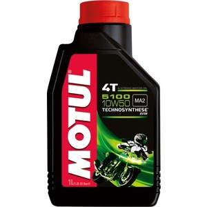 Моторное масло MOTUL 5100 4T 10W-50 1 л моторное масло motul atv power 4t 5w 40 4 л