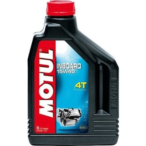 Моторное масло MOTUL Inboard 4T 15W-40 2 л моторное масло motul 300 v 4t fl road racing 10w 40 4 л