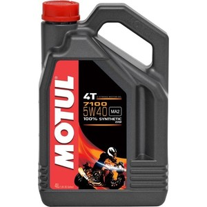 Моторное масло MOTUL 7100 4T 5W-40 4 л моторное масло motul power lcv ultra 10w 40 5 л