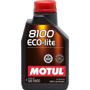 Моторное масло MOTUL 8100 Eco-lite 5W-30 1 л total quartz ineo ecs 5w 30 1 л