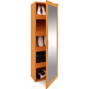 Шкаф для обуви Мастер Альмира-54 зеркало бук