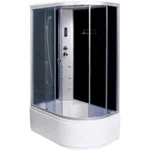 Душевая кабина Aqualux MODO-120, матовое стекло /заднее стекло тёмное (AQ-4072GFL-Bl)