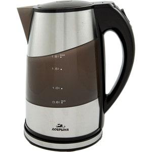 Чайник электрический Добрыня DO-1206, черный
