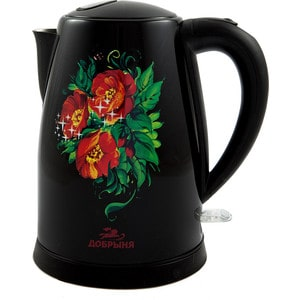 Чайник электрический Добрыня DO-1215 цена и фото