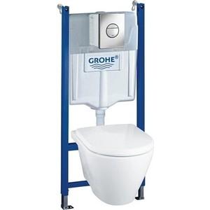 Комплект Grohe Lixil Solido инсталляция + унитаз с сиденьем микролифт (39127000)