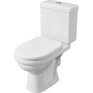 Унитаз компакт Santeri Визит Стандарт с сиденьем, белый (1.P405.3.S00.00B.F) santeri орион белый