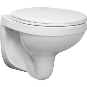 Унитаз подвесной Santeri Альфа Стандарт с сиденьем, белый (1.3255.9.S00.00B.0) цена 2017