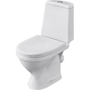 Унитаз компакт Santeri Прайм Стандарт с сиденьем, белый (1.P205.4.S00.00B.F) цена 2017