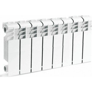 Радиатор отопления General Hydraulic алюминиевый GH LIETEX 350-80, 80мм (16 BAR) 8 секций (215460708)