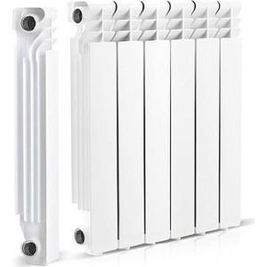 Радиатор отопления General Hydraulic алюминиевый GH LIETEX 500-96, 96мм (16 BAR) 6 секций (215101706)