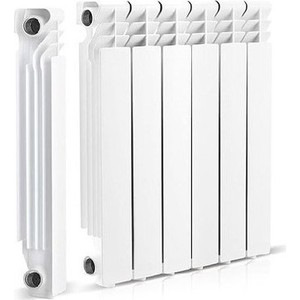 Радиатор отопления General Hydraulic алюминиевый GH LIETEX 500-96, 96мм (16 BAR) 12 секций (215101712)