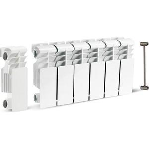 Радиатор отопления General Hydraulic биметаллический GH VIERTEX 350-80, 80мм (35 BAR) 6 секций (214910706)