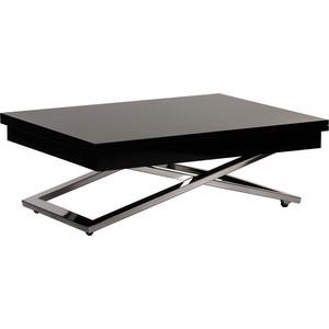 Стол-трансформер Levmar Cross GWE - венге (глянец) складной журнальный стол хай тек levmar cross gl белый глянец