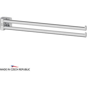 Держатель полотенец поворотный двойной 37 см FBS Esperado хром (ESP 044) fbs esperado esp 044