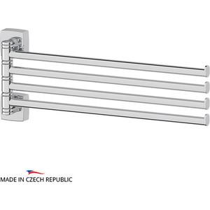 Держатель полотенец поворотный четверной 37 см FBS Esperado хром (ESP 046) держатель полотенец поворотный четверной 37 см fbs standard хром sta 046
