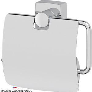 Держатель туалетной бумаги с крышкой FBS Esperado хром (ESP 055) держатель туалетной бумаги keuco elegance с крышкой 11660010000
