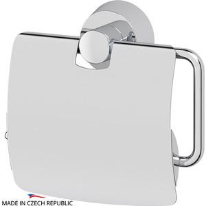 Держатель туалетной бумаги с крышкой FBS Vizovice хром (VIZ 055)
