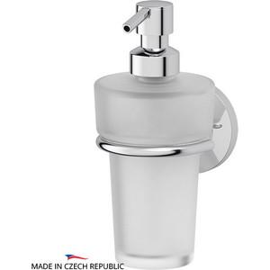 Держатель с емкостью для жидкого мыла FBS Standard хром (STA 009) 1pc used fatek pm fbs 14mc plc