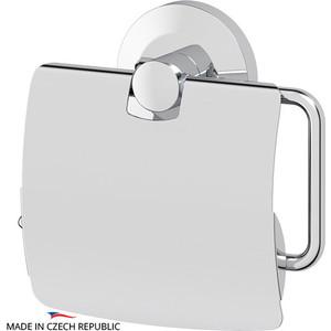 Держатель туалетной бумаги с крышкой FBS Standard хром (STA 055) ерш с крышкой fbs standard хром sta 057