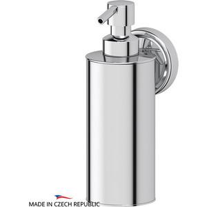Емкость для жидкого мыла металлическая FBS Ellea хром (ELL 011) держатель со стаканом и емкостью для жидкого мыла fbs ellea хром ell 008