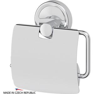 Держатель туалетной бумаги с крышкой FBS Ellea хром (ELL 055)