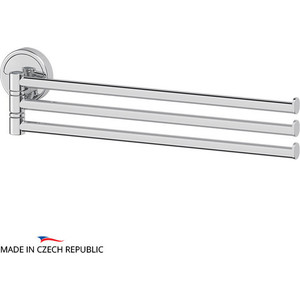 Держатель полотенец поворотный тройной 37 см FBS Luxia хром (LUX 045) 1pc used fatek pm fbs 14mc plc