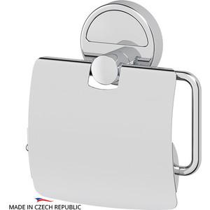 Держатель туалетной бумаги с крышкой FBS Luxia хром (LUX 055)