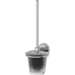 Ерш с крышкой FBS Luxia хром (LUX 057) гарнитур для туалета fbs luxia цвет хром 2 предмета lux 059