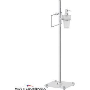 Стойка комбинированная для биде FBS Universal хром (UNI 308) комплект навесных крючков 14 мм fbs universal хром uni 004