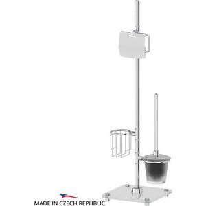 Стойка комбинированная для туалета FBS Universal хром (UNI 310) комплект навесных крючков 14 мм fbs universal хром uni 004