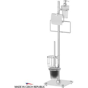 Стойка комбинированная для туалета с биде FBS Universal хром (UNI 311) комплект навесных крючков 25 мм fbs universal хром uni 005
