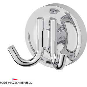 Крючок двойной Ellux Elegance хром (ELE 001) буфет luxury elegance furniture dzh4 03 001
