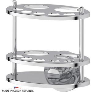 Держатель зубных щеток и пасты Ellux Elegance хром (ELE 005) буфет luxury elegance furniture avh6 005