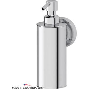 Емкость для жидкого мыла металлическая Ellux Elegance хром (ELE 010) штанга комбинированная для туалета с биде ellux elegance хром ele 076