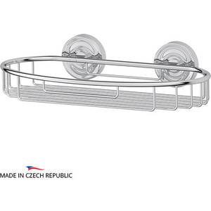 Полочка-решетка 30 см Ellux Elegance хром (ELE 014) дозатор ellux elegance ele 010