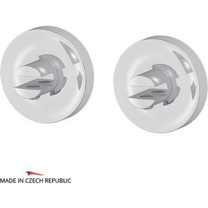 цены Комплект держателей стеклянной полки (без полки) Ellux Elegance хром (ELE 033)