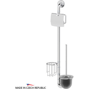 Штанга комбинированная для туалета Ellux Elegance хром (ELE 075) штанга комбинированная для туалета с биде ellux elegance хром ele 076