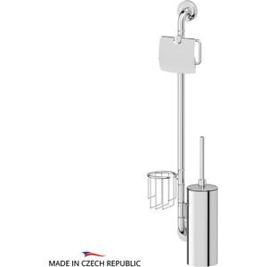 Штанга комбинированная для туалета Ellux Elegance хром (ELE 078) штанга комбинированная для туалета с биде ellux elegance хром ele 076