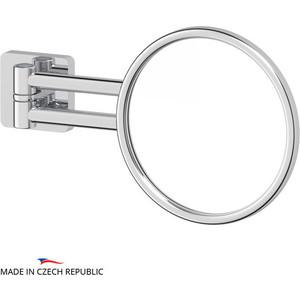 Косметическое зеркало Ellux Avantgarde хром (AVA 058) полотенцедержатель ellux avantgarde ava 026