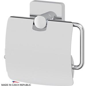 Держатель туалетной бумаги с крышкой Ellux Avantgarde хром (AVA 066) держатель туалетной бумаги с крышкой ellux avantgarde хром ava 066