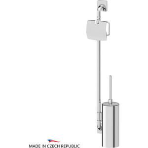 Штанга комбинированная для туалета Ellux Avantgarde хром (AVA 077) полотенцедержатель ellux avantgarde ava 026