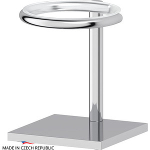 Держатель стакана/дозатора жидкого мыла настольный Ellux Domino, для ELU 001, ELU 002, ELU 003, ELU 004, хром (DOM 001) часы dom