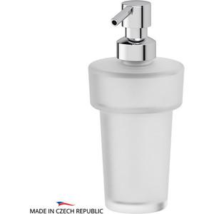 Емкость для жидкого мыла с помпой Ellux Ellux матовый хрусталь (ELU 004)